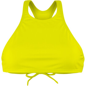 arena Think Crop Top Women soft green-yellow star